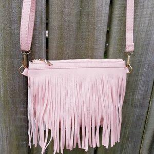 Handbags - Tassel Fringe Crossbody Clutch NEW!